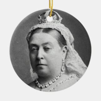 Queen Victoria by Alexander Bassano Christmas Ornament