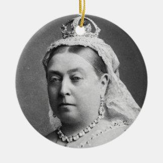 Queen Victoria by Alexander Bassano Christmas Ornament
