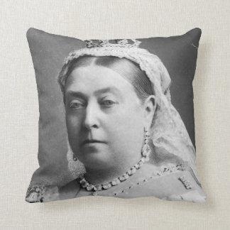 Queen Victoria by Alexander Bassano Throw Pillows