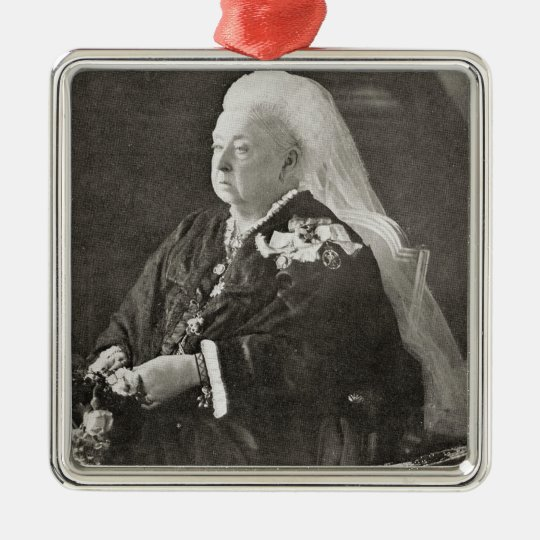 Queen Victoria c.1899 Christmas Ornament