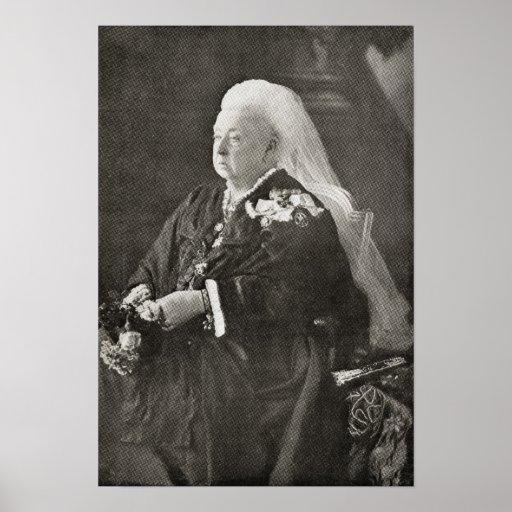 Queen Victoria  c.1899 Poster