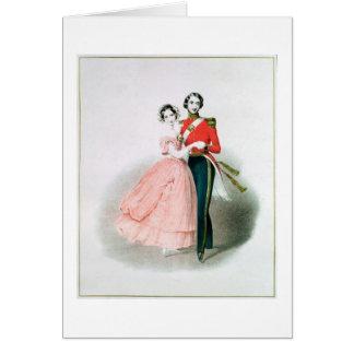 Queen Victoria Card