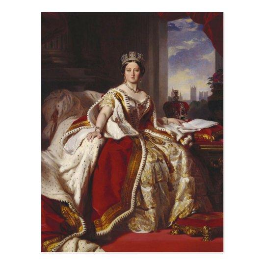 Queen Victoria: Coronation Postcard