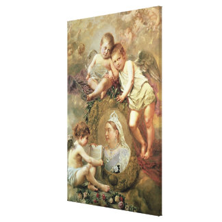 Queen Victoria - In Memoriam Canvas Print