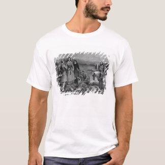 Queen Victoria landing at Loch Muick T-Shirt