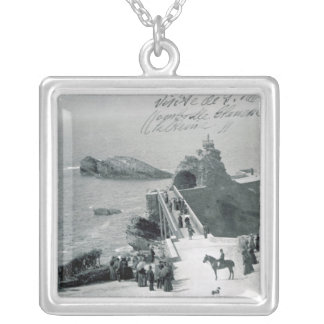 Queen Victoria on the French Coast Silver Plated Necklace
