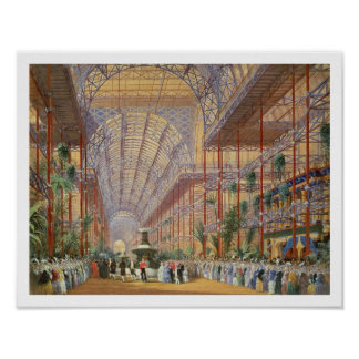 Queen Victoria Opening the 1862 Exhibition after C Poster