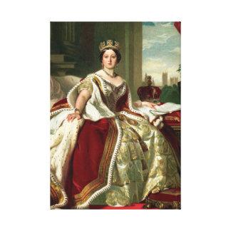 Queen Victoria Portrait Canvas Print