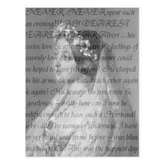 Queen Victoria Quote Postcard