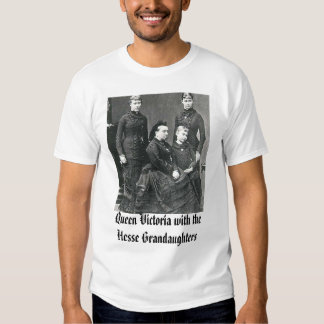 Queen Victoria with the Hesse Grandaughters, Qu... T-shirts