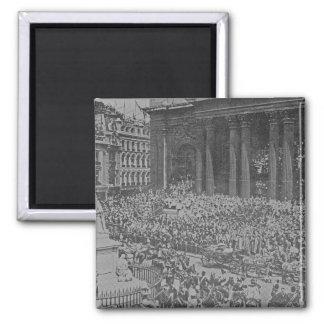 Queen Victoria's Diamond Jubilee, 1897 Square Magnet