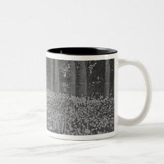 Queen Victoria's Diamond Jubilee, 1897 Two-Tone Coffee Mug