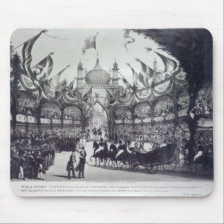 Queen Victoria's first visit to Brighton Mouse Pad
