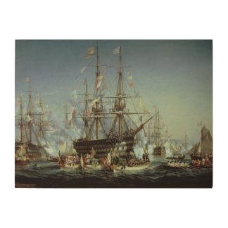 Queen Victoria's Visit to Cherbourg, 1858 Wood Print
