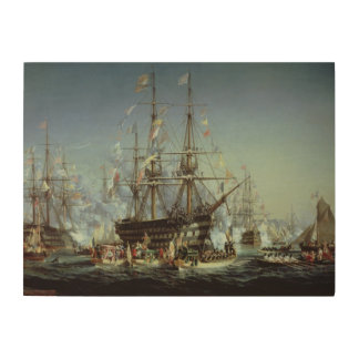 Queen Victoria's Visit to Cherbourg, 1858 Wood Wall Decor