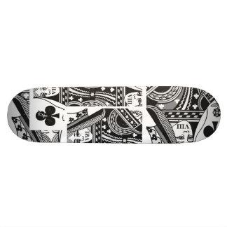 Queen VIII Skate 21.6 Cm Old School Skateboard Deck