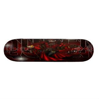 queen voo doo skateboard deck