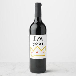Queen Wine Label