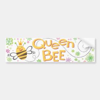QueenBee BumperSticker Bumper Sticker