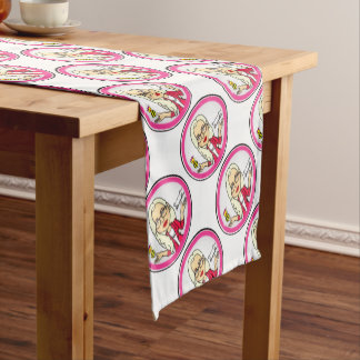 QueenBeeing Table Setup Short Table Runner