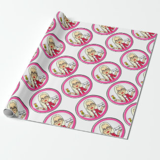 QueenBeeing Table Setup Wrapping Paper