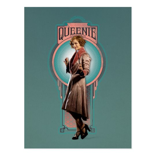 Queenie Goldstein Art Deco Panel Postcard