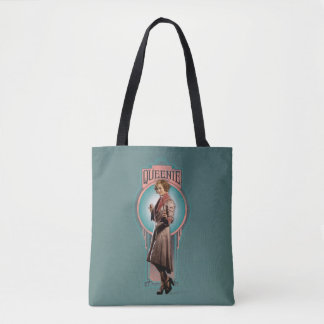 Queenie Goldstein Art Deco Panel Tote Bag