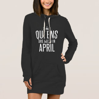 Queens Are Born In April Dress