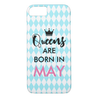 Queens are born in - Custom month and colour iPhone 8/7 Case