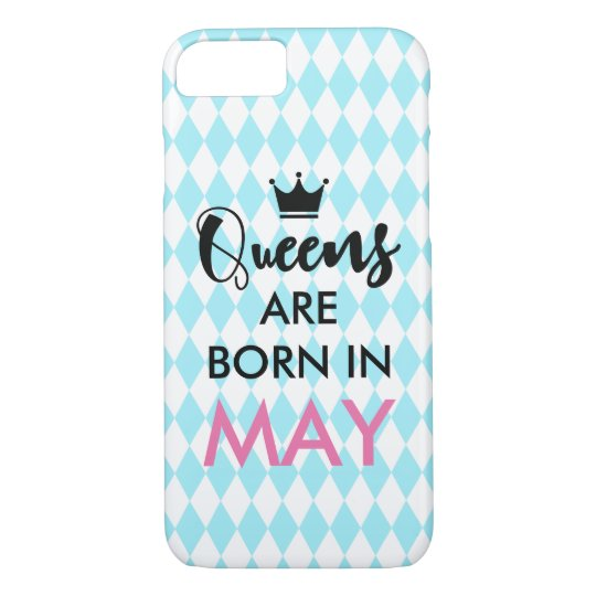 Queens are born in - Custom month and