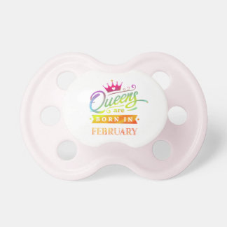 Queens are born in February Birthday Gift Dummy