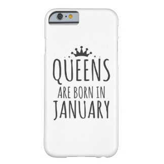 Queens Are Born In January Barely There iPhone 6 Case