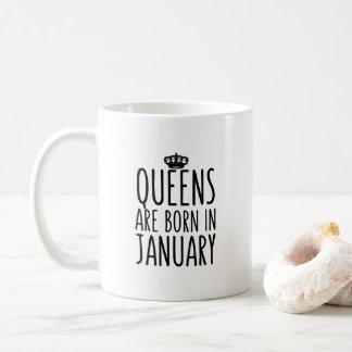 Queens are born in January Coffee Mug