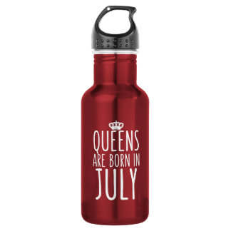 Queens are Born in July 532 Ml Water Bottle