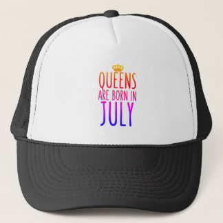 Queens are born in July Hat