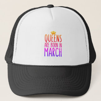 Queens are born in March Hat