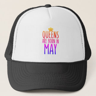 Queens are born in May Hat