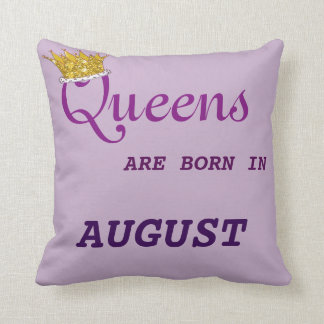 Queens Are Born in  Pillow Purples