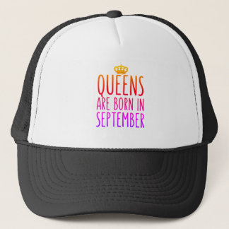 Queens are born in September Hat