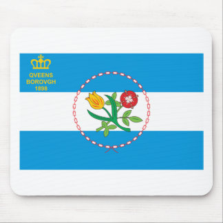 Queens Borough Flag Mouse Pad