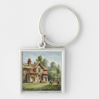 Queen's Cottage, Richmond Gardens, plate 17 from ' Silver-Colored Square Key Ring