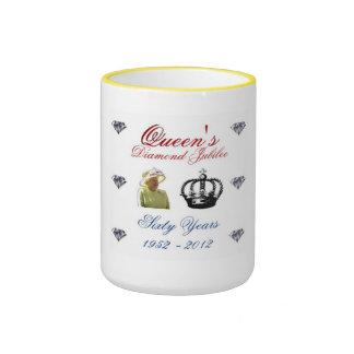 Queens Diamond Jubilee 1952-2012 60 Years Mug