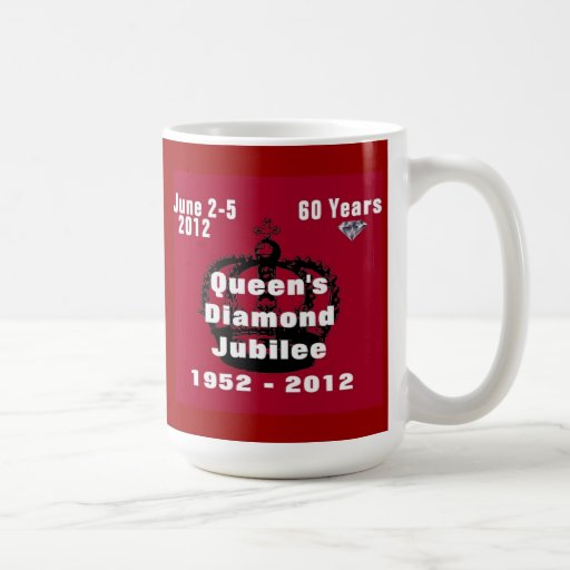 Queens Diamond Jubilee 1952-2012 Mug