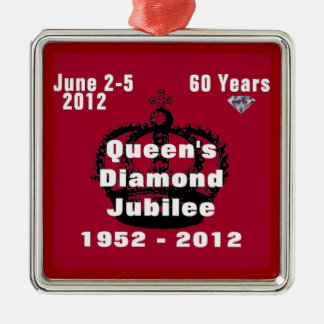 Queens Diamond Jubilee 1952-2012 Ornament