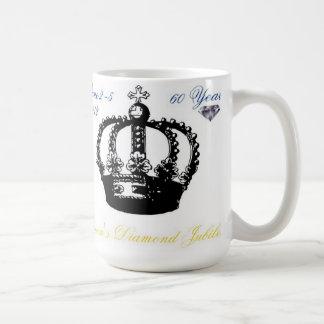 Queens Diamond Jubilee 2012 Mug Basic White Mug