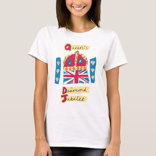 Queen's Diamond Jubilee 2012 Official Colour T-Shirt