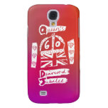 Queen's Diamond Jubilee 2012 Official White Emblem Samsung Galaxy S4 Covers