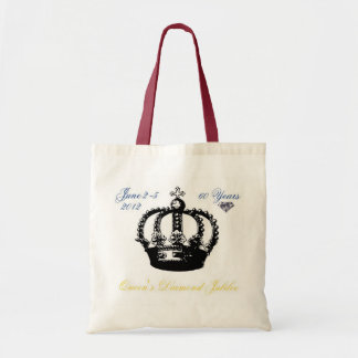 Queens Diamond Jubilee 2012 Tote Bag