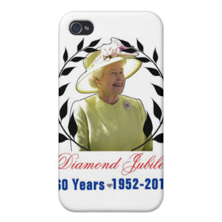 Queens Diamond Jubilee 60 Years iPhone 4/4S Case