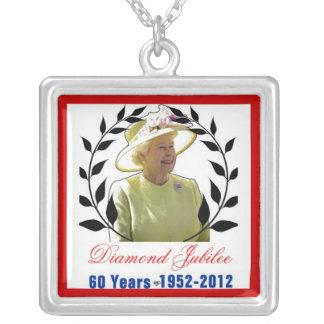 Queens Diamond Jubilee 60 Years Necklace